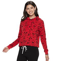 Disney's Mickey Mouse 90th Anniversary Juniors' Fleece Hoodie
