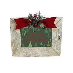 St. Nicholas Square® Faux Birch 4' x 6' Christmas Frame