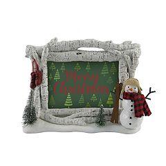 St. Nicholas Square® Snowman 4' x 6' Christmas Frame