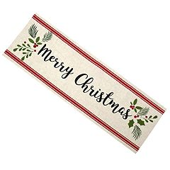 St. Nicholas Square® 'Merry Christmas' Table Runner - 36'