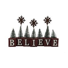 St. Nicholas Square® 'Believe' Christmas Photo Clip