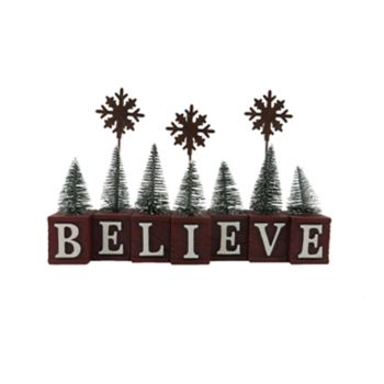 "St. Nicholas Square® ""Believe"" Christmas Photo Clip"