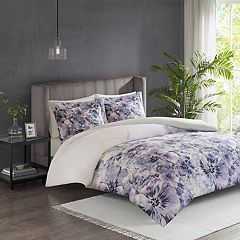 Madison Park Adella 3-piece Printed Duvet Cover Set