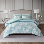 Madison Park Arlena 3-piece Printed Duvet Cover Set