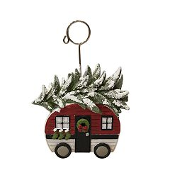 St. Nicholas Square® Camper Christmas Photo Clip