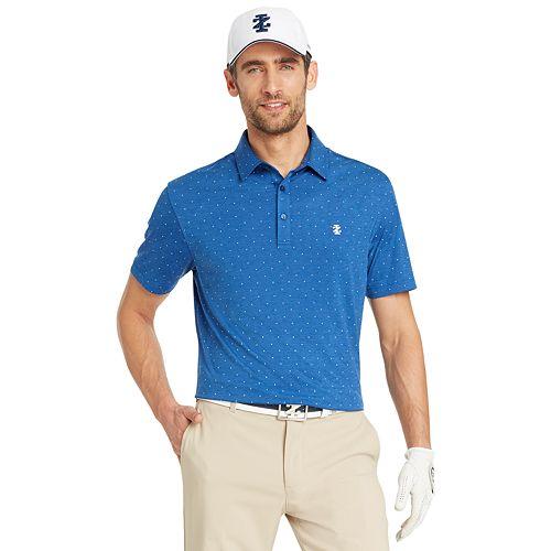 Big & Tall IZOD Classic-Fit Dot Performance Golf Polo