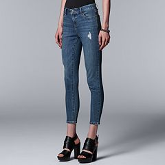 Women's Simply Vera Vera Wang Everyday Luxury Ankle Skinny Jeans