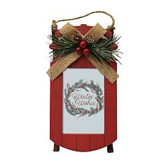 St. Nicholas Square® Rustic Red Sled 4' x 6' Frame