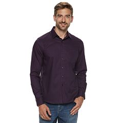 Men's Apt. 9® Stretch No-Iron Woven Button-Down Shirt