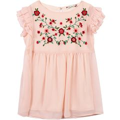 Girls 7-16 Speechless Floral Babydoll Top