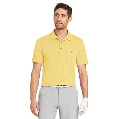 Big & Tall IZOD Classic-Fit Grid Performance Golf Polo