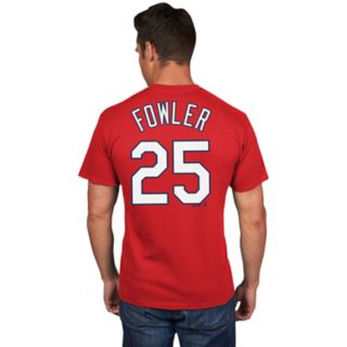 Men's Majestic St. Louis Cardinals Dexter Fowler Name & Number Tee