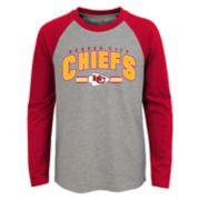 Boys 4-18 Kansas City Chiefs Audible Tee
