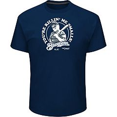 Men's Majestic Milwaukee Brewers 'You're Killin' Me Smalls' Tee