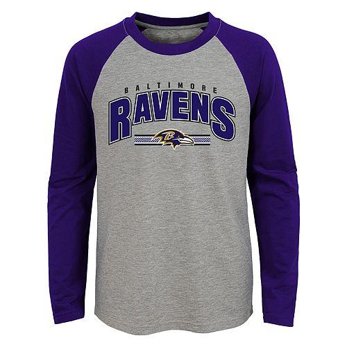 Boys 4-18 Baltimore Ravens Audible Tee