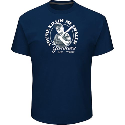 "Men's Majestic New York Yankees ""You're Killin' Me Smalls"" Tee"