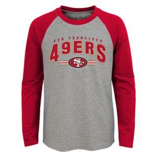 Boys 4-18 San Francisco 49ers Audible Tee