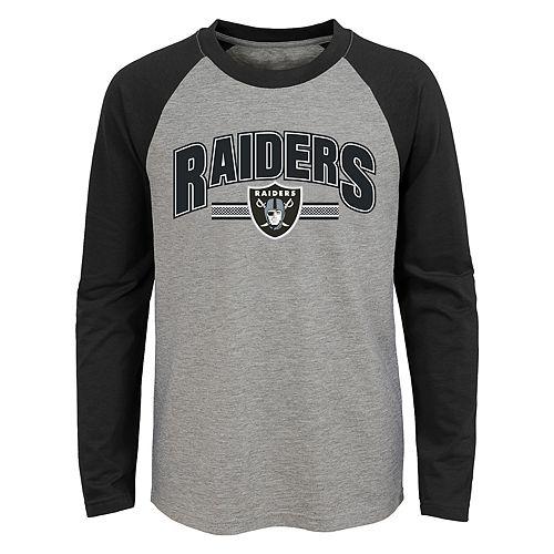 Boys 4-18 Oakland Raiders Audible Tee