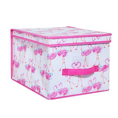 Laura Ashley Lifestyles Kids Pretty Flamingo Large Storage Box