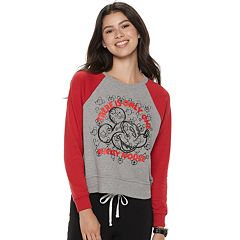 Disney's Mickey Mouse 90th Anniversary Juniors' 'There is Only One Mickey Mouse' Pullover