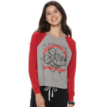 """Disney's Mickey Mouse 90th Anniversary Juniors' """"There is Only One Mickey Mouse"""" Pullover"""