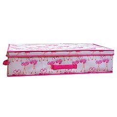 Laura Ashley Lifestyles Kids Pretty Flamingo Under Bed Storage Box