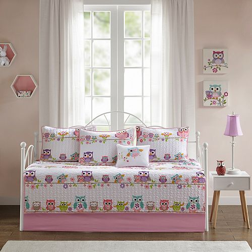 Mi Zone Kids Nocturnal Nellie 6-piece Daybed Set