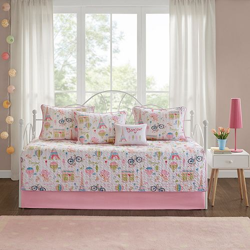 Mi Zone Kids Penelope The Poodle 6-piece Daybed Set