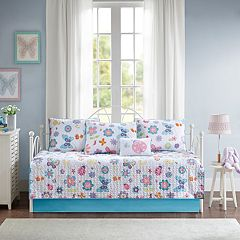 Mi Zone Kids Butterfly Bonanza 6-piece Daybed Set
