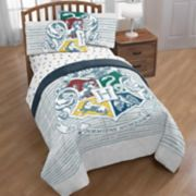 Harry Potter Hogwarts Houses Twin Full Comforter