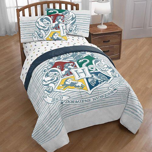 Harry Potter Hogwarts Houses Twin Full Comforter