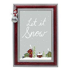 St. Nicholas Square® '2018' Snowman 4' x 6' Frame