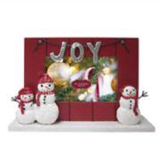"St. Nicholas Square® 4"" x 6"" Snowman Christmas Frame"