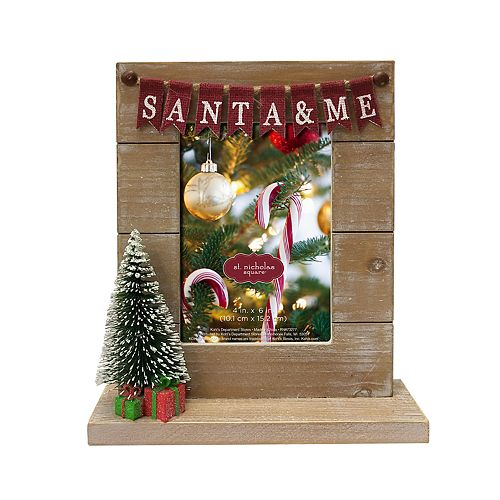 Is Kohls Open On Christmas Eve.St Nicholas Square Santa Me 4 X 6 Christmas Frame