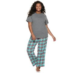Plus Size SO® 3-piece Pajama Set