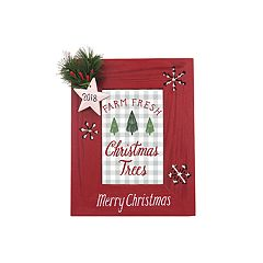 St. Nicholas Square® '2018' 4' x 6' Christmas Frame