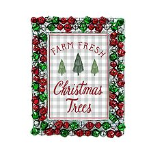 St. Nicholas Square® Jingle Bells 5' x 7' Christmas Frame