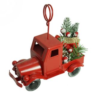 St. Nicholas Square® Red Truck Christmas Photo Clip