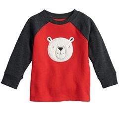 Toddler Boy Jumping Beans® Flat Back Applique Raglan Top