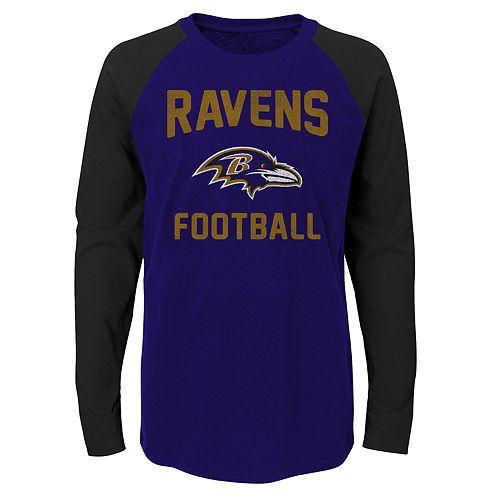 Boys 4-18 Baltimore Ravens Prestige Tee