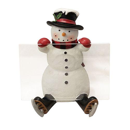 "St. Nicholas Square® Snowman 4"" x 6"" Christmas Frame"
