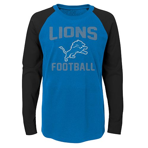 Boys 4-18 Detroit Lions Prestige Tee