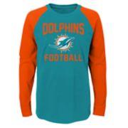 Boys 4-18 Miami Dolphins Prestige Tee
