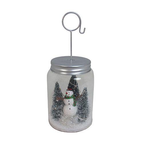 St. Nicholas Square® Light-Up Mason Jar Christmas Photo Clip