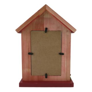 """St. Nicholas Square® Dog House 4"""" x 6"""" Christmas Frame"""