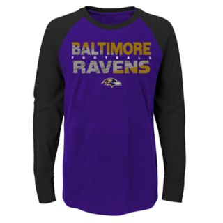 Boys 4-18 Baltimore Ravens Flux Tee
