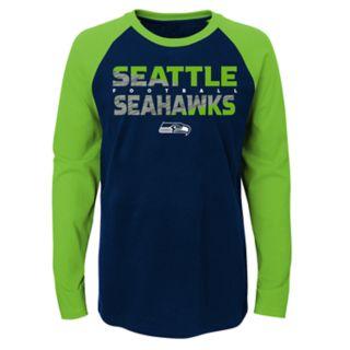 Boys 4-18 Seattle Seahawks Flux Tee