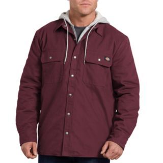 Big & Tall Dickies Relaxed-Fit Hooded Duck Shirt Jacket