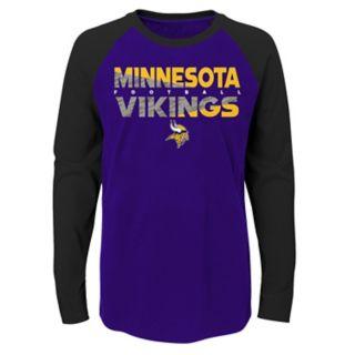 Boys 4-18 Minnesota Vikings Flux 2.0 Tee
