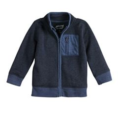 Toddler Boy Jumping Beans® Sweater Fleece Zip Lightweight Jacket